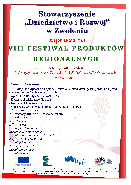 VIII festiwal produktów regionalnych